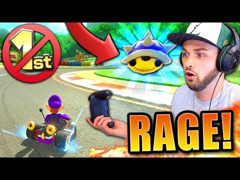 THIS SHOULD BE BANNED! - (Mario Kart 8 Deluxe w/ Ali-A)