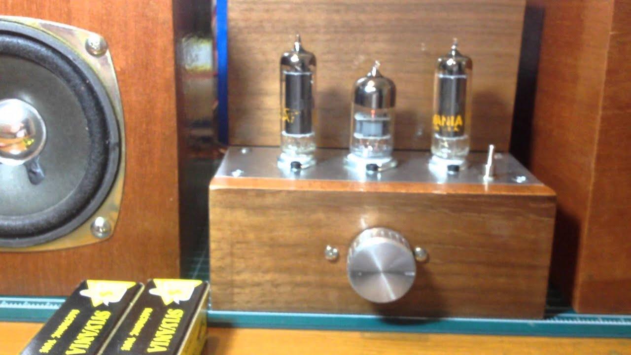 5aq5 6aq5 4 7v Heater Single Ended Tube Amplifier