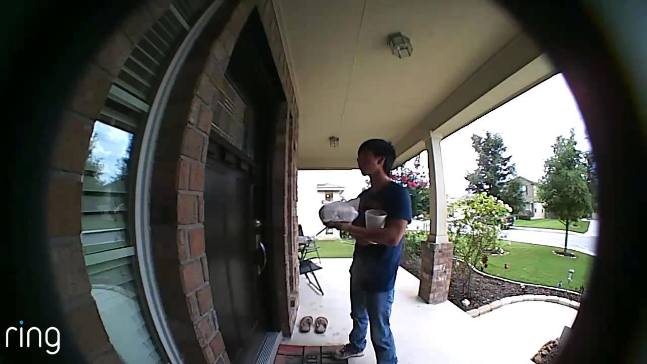 Ring Wireless Video Door Bell Youtube