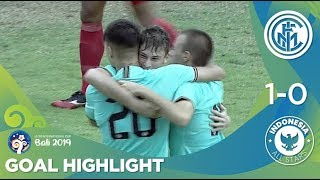 Goal Highlight-Inter Milan (1) vs (0) Indonesia All Stars | U-20 International Cup Bali 2019