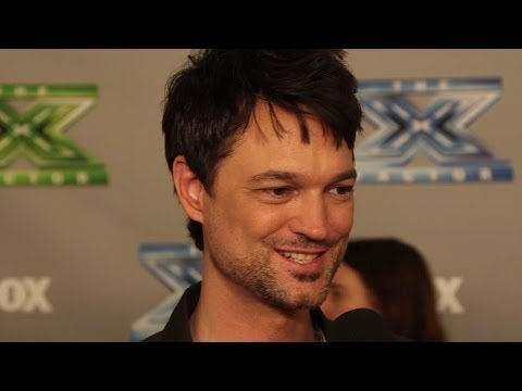Jeff Gutt Tattoos, Kelly Rowland, and Music! X Factor Interview
