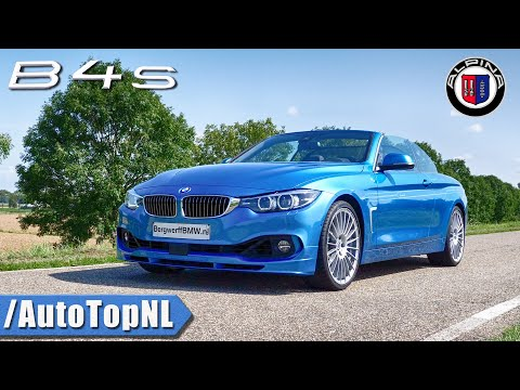BMW ALPINA B4 S Akrapovic SOUND Revs & TUNNEL ONBOARD By AutoTopNL