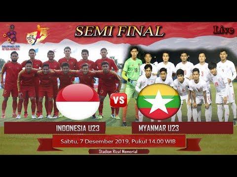 Timnas Indonesia U23 Vs Myanmar U23 // Semifinal Sea Games 2019 Filipina