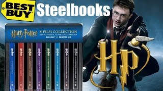 Harry Potter: 8 Film Collection Special Edition Steelbooks (Best Buy Exclusive)(, 2016-12-07T12:19:53.000Z)