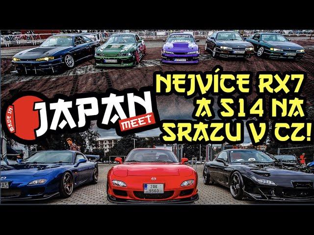 Největší sraz RX-7 FD a S14 v česku a další japonské skvosty! | MADE IN JAPAN meet - Praha