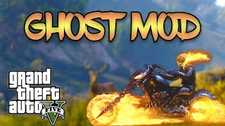 GTA V PC Mods - GHOST RIDER MOD!!! GTA 5 How To Install Ghost Rider Mod By JulioNIB (TUTORIAL!)