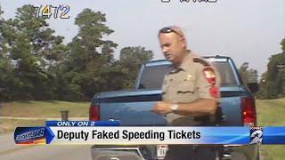 Channel 2 Investigates Deputy faked speeding tickets