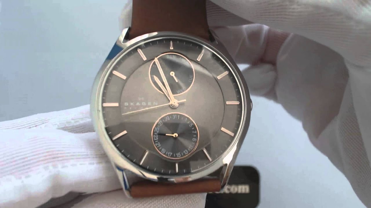 watch r watches hagen clocks leather multifunction pinterest pin skagen k