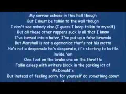 Eminem ft.Kobe-Talkin' 2 Myself[HQ & Lyrics]