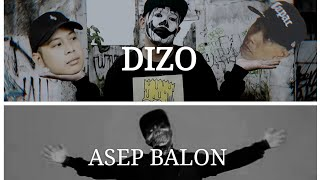 Dizo VS ASEP Balon - Infamous Sexnario Pennywise DISSTRACK BATTLE 2019