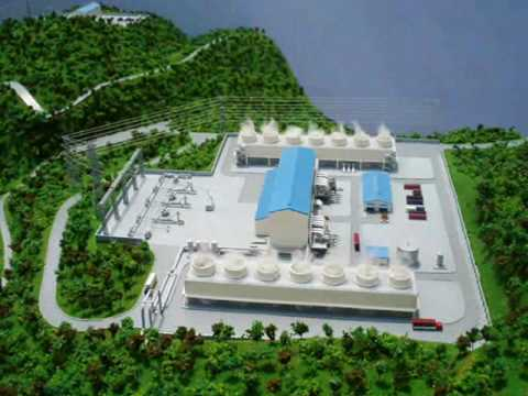 Geothermal Energy Plant Model