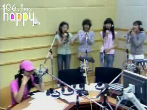 SNSD - I love you (Nuhreul Saranghae) S.E.S @ FM Inkigayo Aug13.2007 GIRLS' GENERATION Live