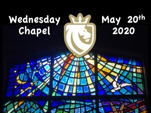Chapel May 20, 2020