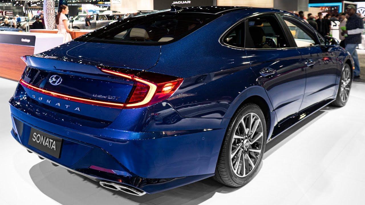 Hyundai Sonata Limited 1.6 T - Nội thất và ngoại thất