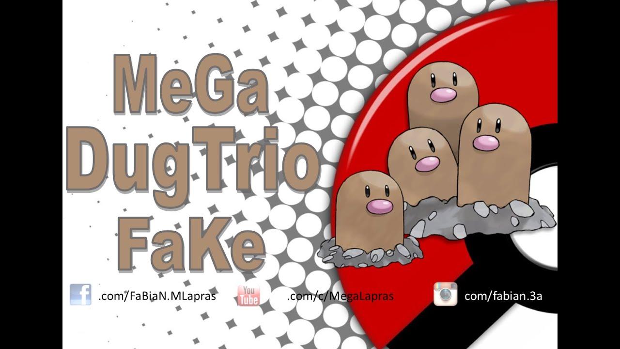 Mega Dugtrio Fake - Pokémon Kanto