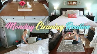 NEW* CLEAN WITH ME-MONDAY CLEANING ROUTINE//EXTREME CLEANING MOTIVATION