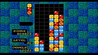 Sega Genesis Columns Game Play (2027404 pts.)