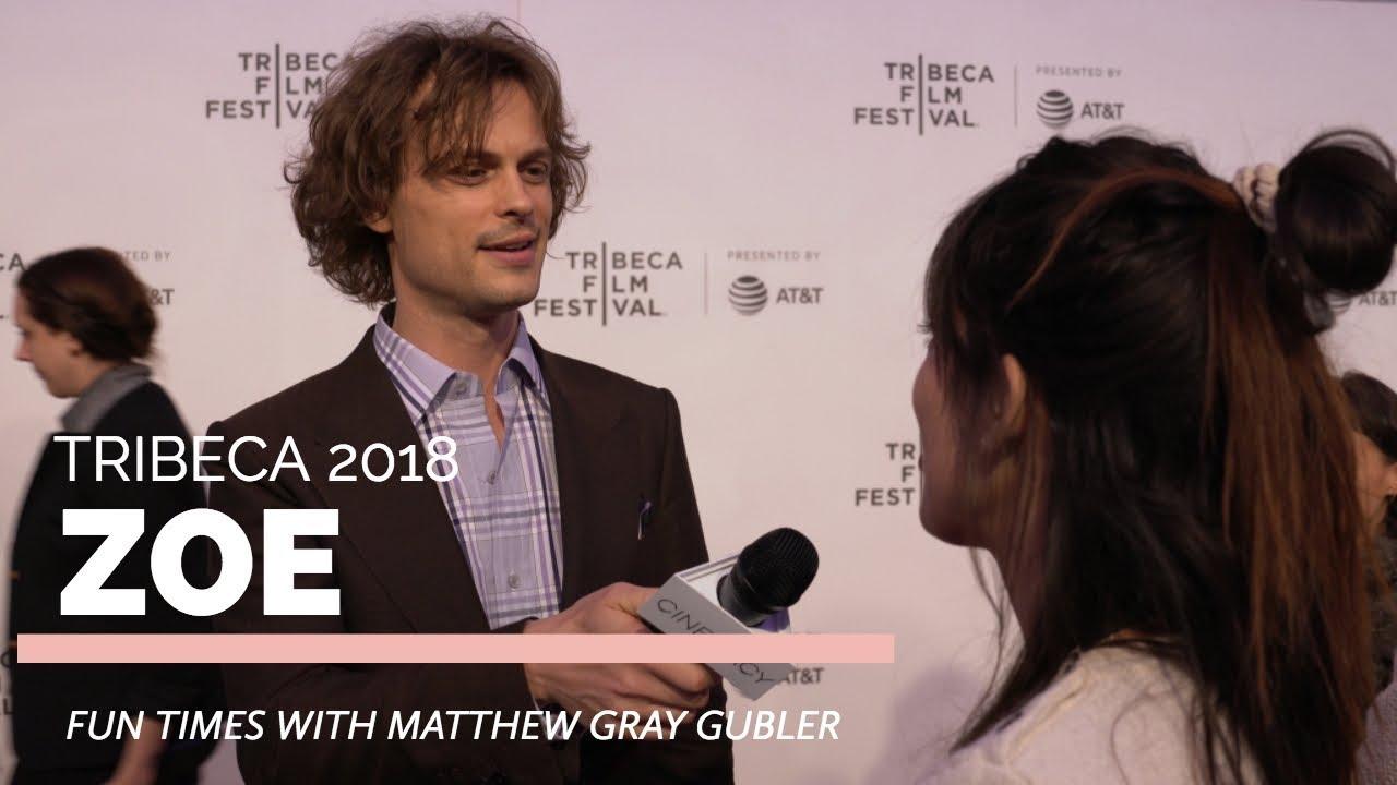 Tribeca 2018 | Matthew Gray Gubler, Drake Doremus talk 'Zoe'