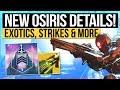 Destiny 2 News | New Exotic Weapon, DLC Vendor Weapons, 2 New Strikes, Milestones & New Patch!