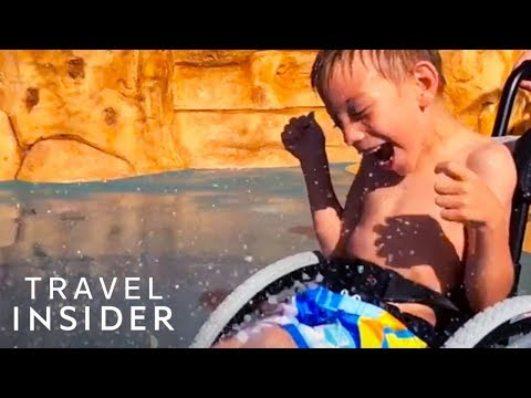 Shelley Wade - This Is The World's First Waterpark That's Wheelchair Friendly!