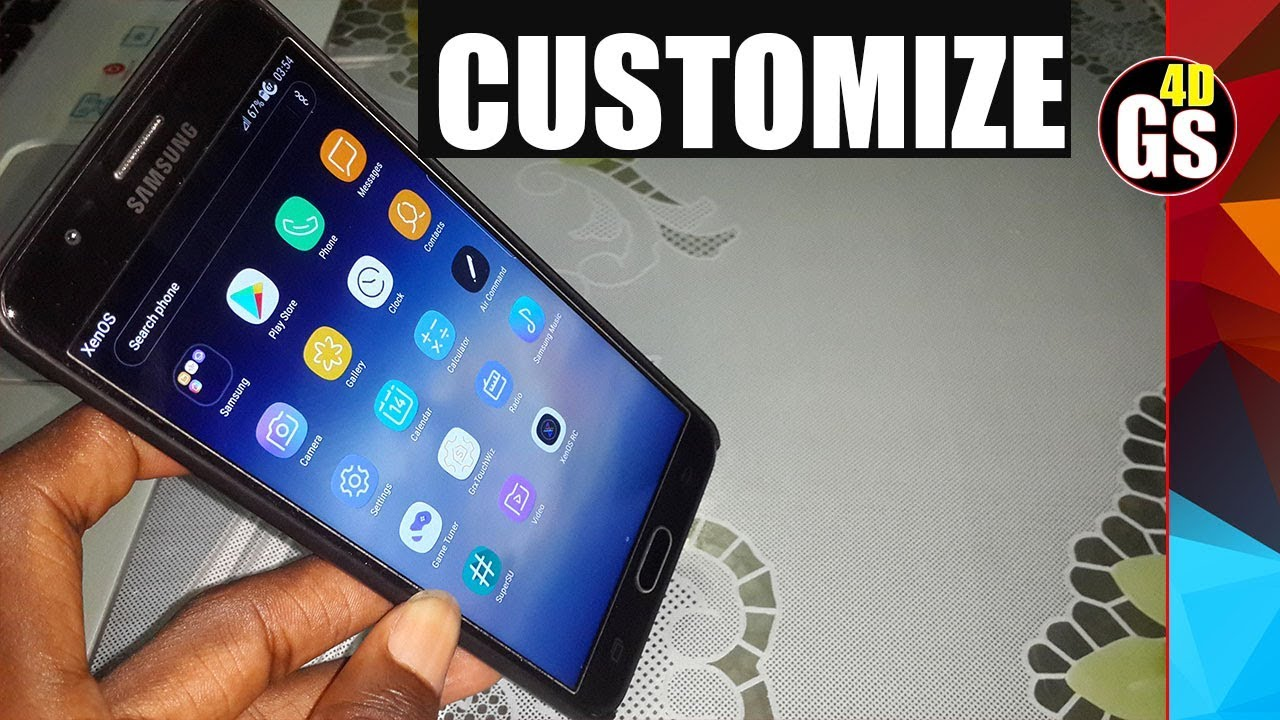 How to customize XenOS v1 1 Galaxy Note8 /S8 rom For J7 Prime