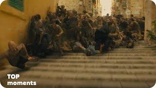 Атака зомби на город (часть 2). Война миров Z (2013)
