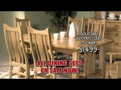 Sugar House Furniture November Dining Sale 14u0027