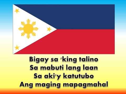 Ako Ay Pilipino w/ Lyrics....
