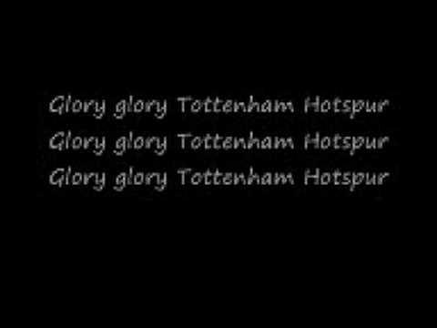 glory glory tottenham hotspur song