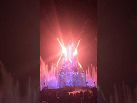 disneyland paris illumination castle