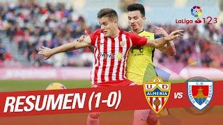 Resumen de UD Almería vs CD Numancia (1-0)