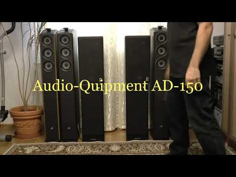 Audio-Quipment AD-150 Vs AVE EC 401 - сравнение звучания.