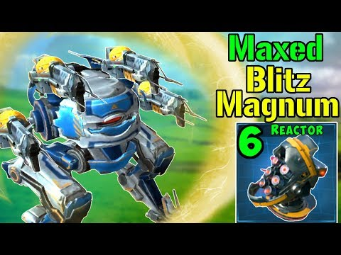 Monster MAGNUM BLITZ Mk2 With Max Damage Modules - War Robots Gameplay WR