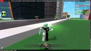 ben 10 roblox the secret of the omnitrix part 1