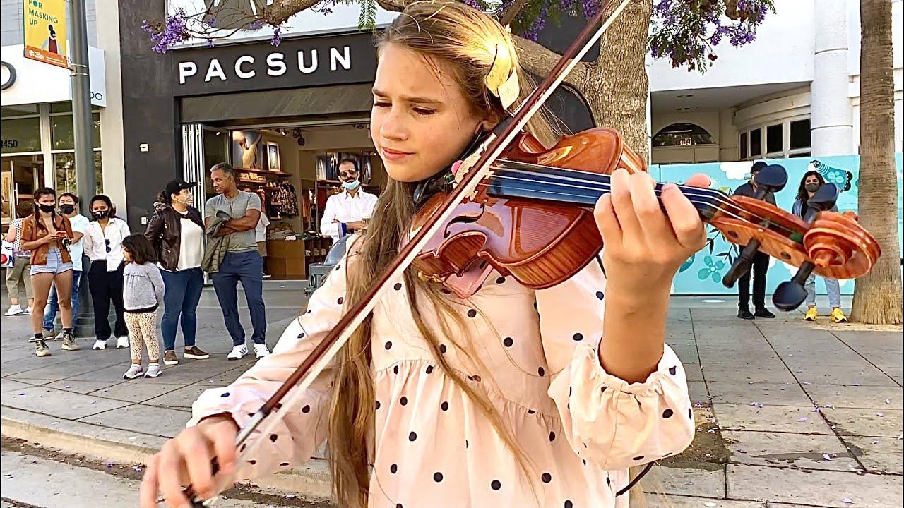 Thunder - Imagine Dragons - Violin Cover - Karolina Protsenko