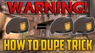 TF2: DUPING TF2 ITEMS possible?! The trick behind the
