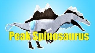 Peak Spinosaurus Showcase! - Roblox Dinosaur Simulator