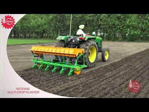 National Direct Seeder For Rice - DSR ENG