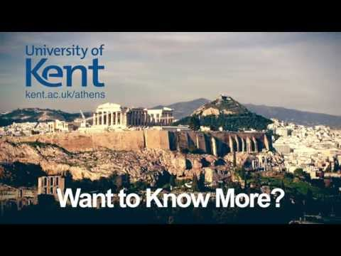 The University of Kent - MA Opportunities in Athens 'Social Media Edit'