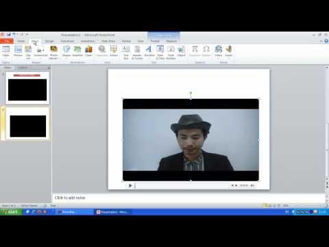 การใส่ไฟล์วีดีโอในPowerPoint