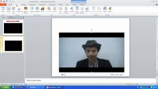 Repeat youtube video การใส่ไฟล์วีดีโอในPowerPoint