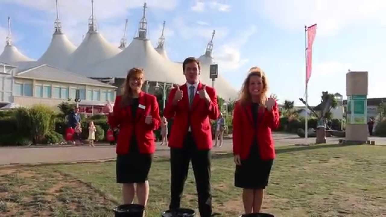 Butlins Bognor Regis Redcoats Ice Bucket Challenge Youtube