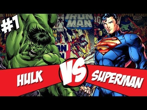 [Central HQs] Crossovers: Superman Vs Hulk (Parte 1)
