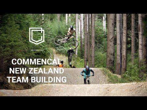 COMMENCAL New-Zealand - Team building in Queenstown