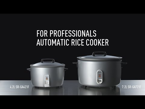 Panasonic –Rice Cooker For Professionals- | Product Feature
