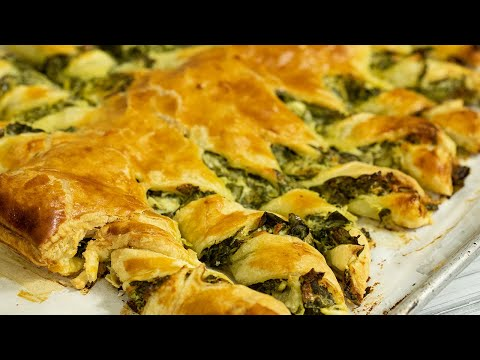 spanakopita-puff-pastry-christmas-tree-appetizer
