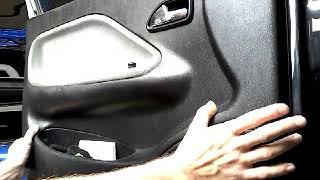 Как снять обшивку карту передней двери CHERY AMULET(2008)demontaz boczka drzwi przod/door panel remo