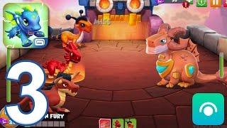 Dragon Mania Legends - Gameplay Walkthrough Part 3 - Battles: 6-10 (iOS, Android)