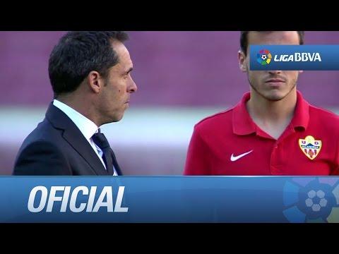 Sergi Barjuan regresa al Camp Nou como entrenador de la UD Almería
