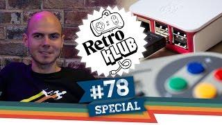 Raspberry Pi Retro Box - Special | Retro Klub mit Gregor | 23.09.2016